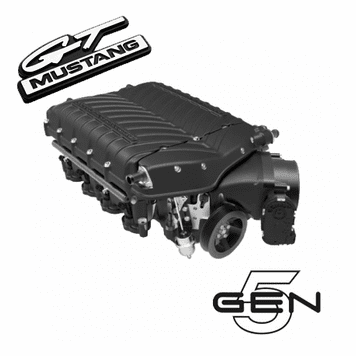 2015-17 Mustang GT Whipple Gen 5 W185RF 3 0L Stage 2 Supercharger Kit