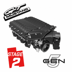 2015-17 Mustang GT Whipple Gen 5 W185RF 3.0L Stage 2 Supercharger Kit