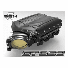 2016-20 GT350 Whipple Gen 5 W185RF (3.0L) SC Kit / Intercooled / 10-11psi / Black