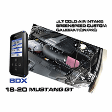 2018-20 Mustang GT JLT Plastic Cold Air Intake Custom BDX Tuner Package
