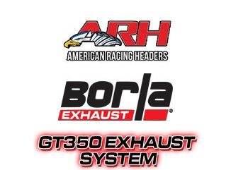 GT350 Exhaust Systems