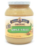 Organic APPLE SAUCE - 12/ 24 oz Jars -  <font color=RED> New Crop Special </font>