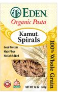 Organic KAMUT SPIRALS - 6/ 12 oz Boxes - out of stock