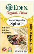 Organic KAMUT VEGETABLE SPIRALS - 3 / 12 oz Boxes