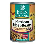 Organic Mexican Rice & Black Beans - 12/ 15 OZ cans