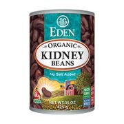 Organic Red Kidney Beans - 12/ 15 OZ cans