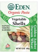 Organic Whole Wheat MEDIUM VEGETABLE SHELLS - 3/ 12 oz Boxes