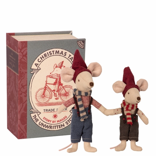 2018 Christmas Mice in Book (10 Left In Store)