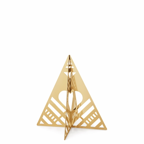 2019 Table Tree Small, Gold Plated