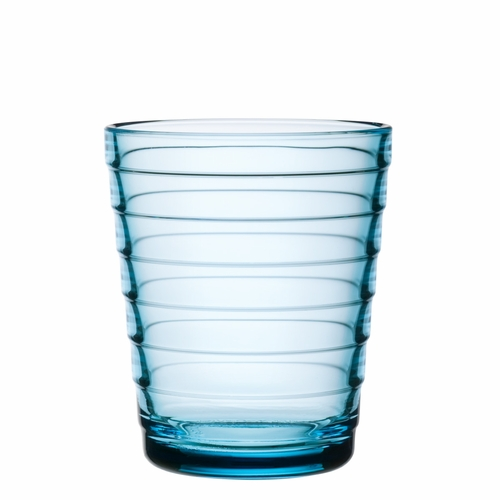 Aino Aalto Tumblers (7.75 oz) Light Blue, Set of 2