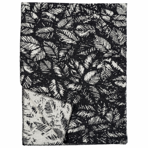 Amorina Merino & Lambs Wool Blanket, Black