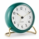 Rosendahl Arne Jacobsen Station Table Clock, Copenhagen Green