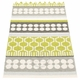 Pappelina Asta Plastic Rug - Lime, 2 1/4' x 11 3/4'