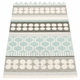 Pappelina Asta Plastic Rug - Pale Turquoise, 2 1/4' x 6'
