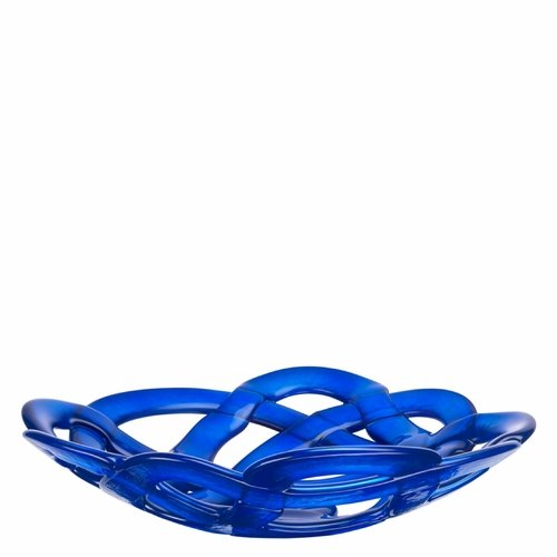Basket Bowl, Large Blue