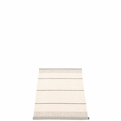 Bella Plastic Rug - Warm Grey, 2' x 2 3/4'