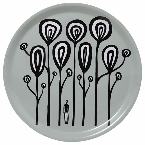 "Bengt & Lotta In The Forest Round Tray - 15"" Diameter"