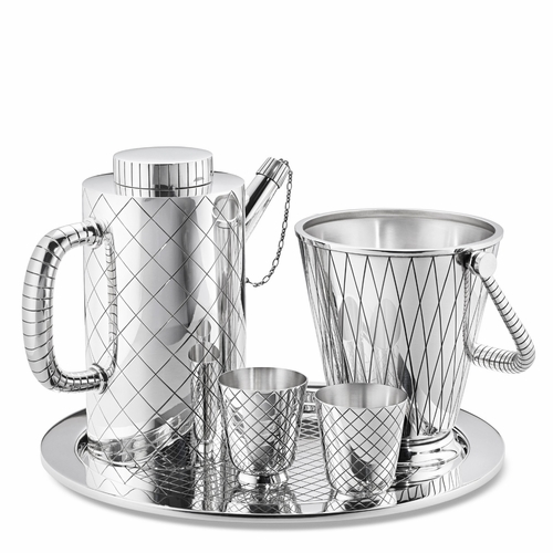 Bernadotte Sterling Silver Cocktail Set, 5 Pieces