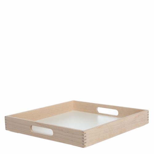 Birch Tray, White