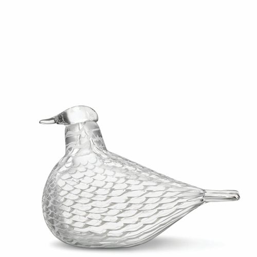 "Iittala Birds by Toikka Mediator Dove - 6.5"" x 4.5"""