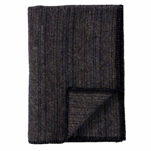 Bjork ECO Wool Baby Blanket, Black