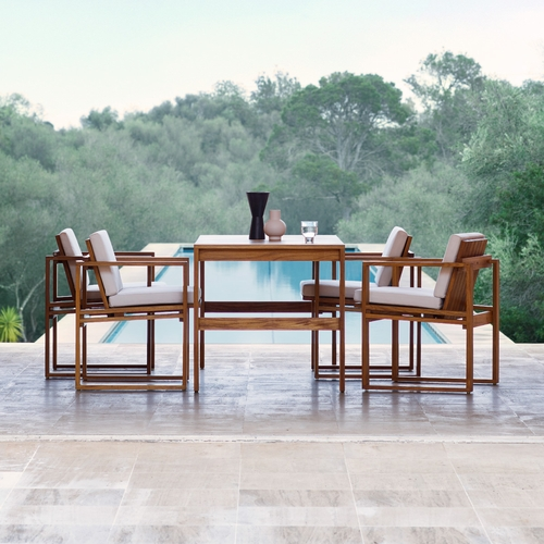 Carl Hansen & Son BK Solid Teak Dining Set