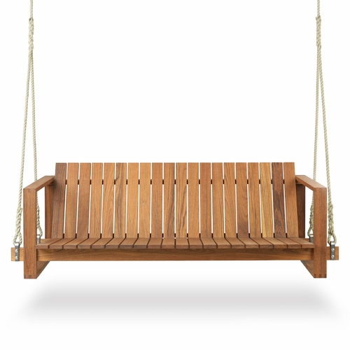 BK13 Swing Sofa, Teak Oil