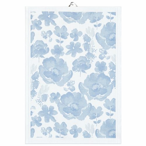 Bla Anemone Tea Towel, 14 x 20 inches
