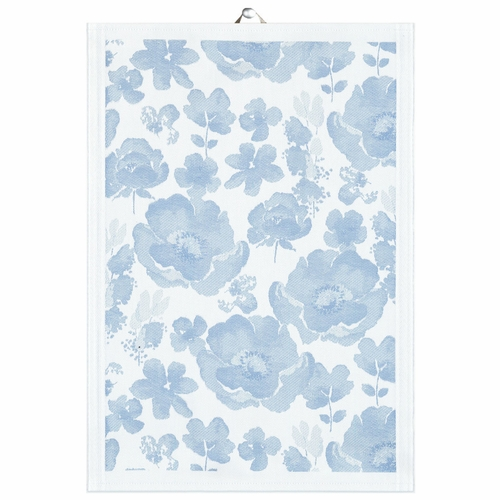 Bla Anemone Tea Towel, 19 x 28 inches