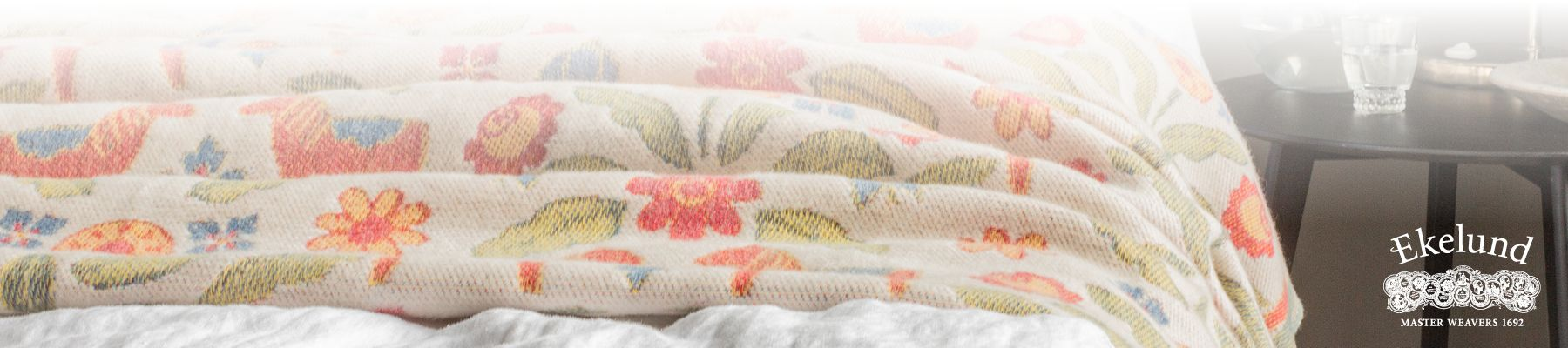 Organic Throws & Cushion - Ekelund Weavers Sweden