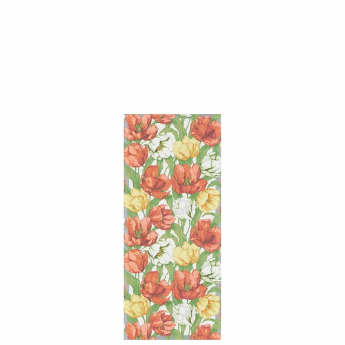 Ekelund Weavers Blommande Tulpaner Table Runner, 14 x 31 inches
