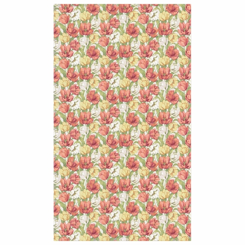 Ekelund Weavers Blommande Tulpaner Tablecloth, 57 x 118 inches