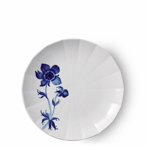Royal Copenhagen Blomst Salad Plate, French Anemone - 8.75""