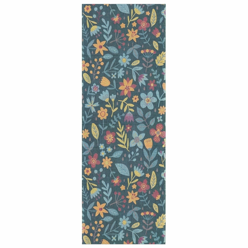Ekelund Weavers Blomster Rug, 28 x 79 inches