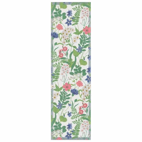 Ekelund Weavers Blomstra Table Runner, 14 x 47 inches
