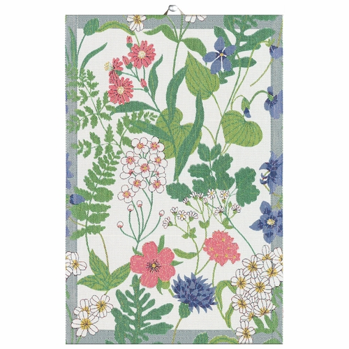 Ekelund Weavers Blomstra Tea Towel, 16 x 24 inches