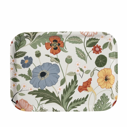 Bloom Small Tray, Cr�me