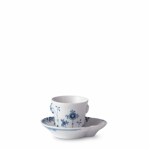 Royal Copenhagen Blue Elements Espresso Cup & Saucer, 3.25 oz