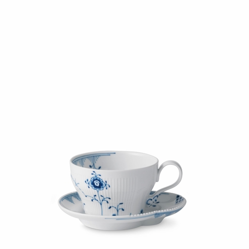 Royal Copenhagen Blue Elements Teacup & Saucer, 8.75 oz
