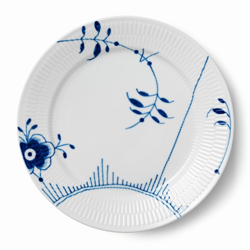 Blue Fluted Mega Dinner Plate #2