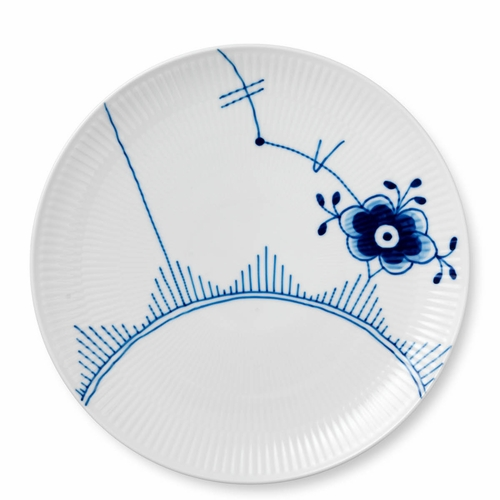 Royal Copenhagen Blue Fluted Mega Dinner Plate Coupe, 10.75""