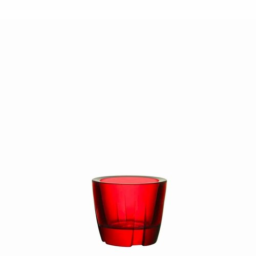 Kosta Boda Bruk Anything Bowl Votive - Deep Red