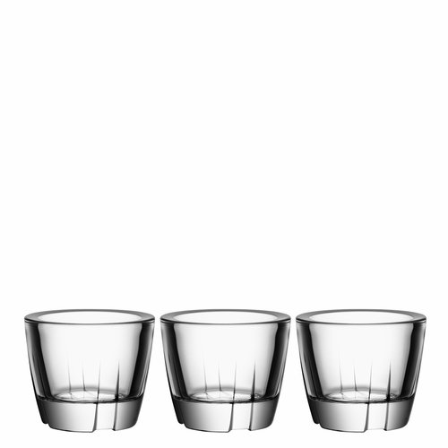 Bruk Anything Bowl Votive, Set of 3 - Clear