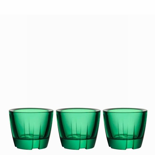 Bruk Anything Bowl Votive, Set of 3 - Forest Green