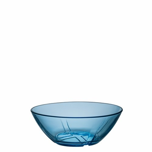 Kosta Boda Bruk Bowl, Small - Water Blue