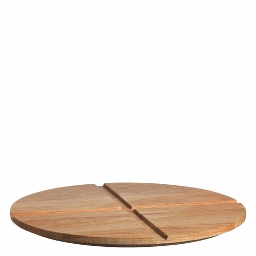 Kosta Boda Bruk Serving Board/Lid, Large - Oak