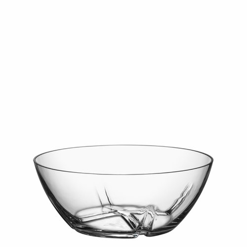 Kosta Boda Bruk Serving Bowl, Medium - Clear