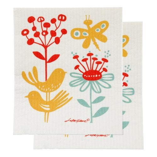 Klippan Butterfly Dishcloth, Set of 2