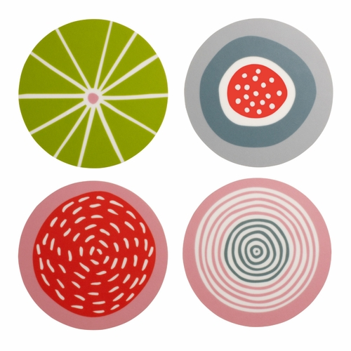 Candy Coasters, Set of 4