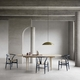 Carl Hansen & Søn Limited Edition CH24 Wishbone Chair, Beech Navy Blue Lacquer, Natural Paper Cord Seat